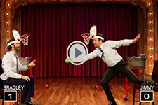 Thumbnail image for And Now&#8230; A Game Of Faceketball With Jimmy Fallon And Bradley Cooper