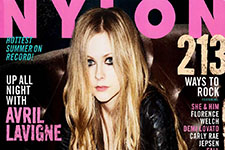 Thumbnail image for Avril Lavigne Covers The July Issue Of 'Nylon' Magazine