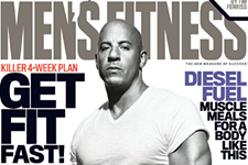Thumbnail image for Vin Diesel Covers 'Men's Fitness' Magazine